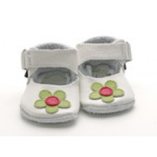 Baby Paws Lucy Wit met Lime Bloem