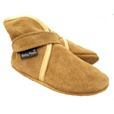 Baby Paws Wrapz Tan Suede