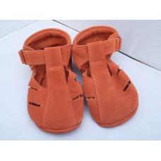 Baby Paws sandal Oranje Suede
