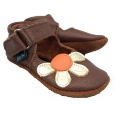 Baby Paws Amanda Chocolade Oranje