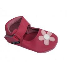 Baby Paws Lucy Fuchsia met Roze Bloem