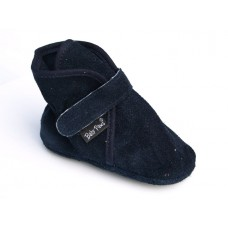 Baby Paws Wrapz Navy Suede