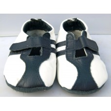 Baby Paws Sprint Wit Navy